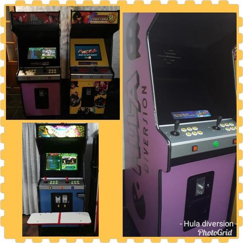 maquinas arcade multijuegos y peloteros