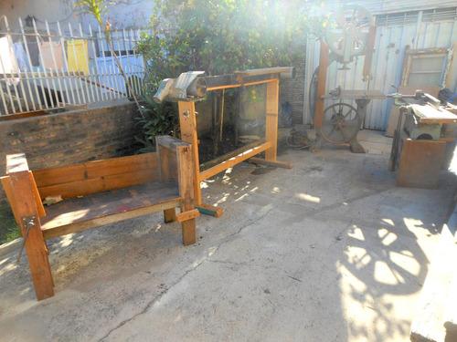 maquinas carpinteria sierra sin fin lijadora banco