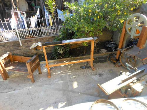 maquinas carpinteria sierra sin fin lijadora combinada banco