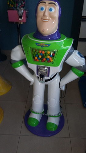 maquinas chicleras buzz lightyear