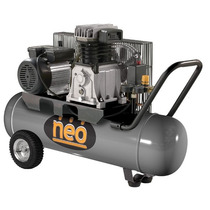 Compresor De Aire Neo Ce810 Monofásico 100l 4hp Correas 10ba