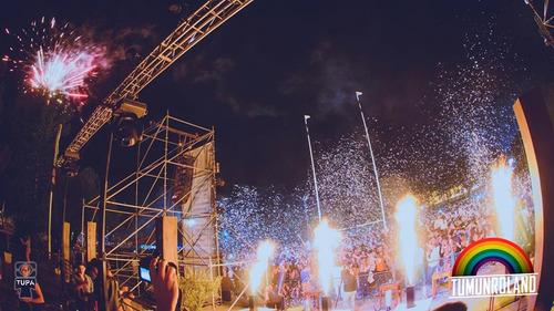 maquinas de confeti , maquinas de fuego efectos especiales