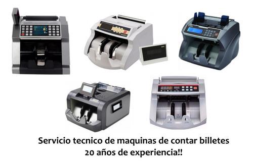máquinas de contar billetes reparamos todas las marcas.