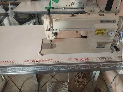 máquinas de costura industrial