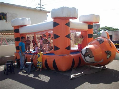 maquinas de espuma, toro mecanico, inflables, trampolin etc.