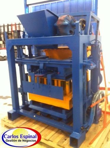 máquinas de fabricación de blocks en venta todo el país