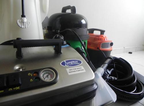 máquinas de lavado a vapor
