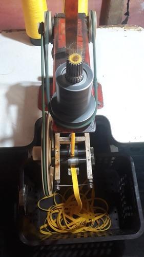máquinas de roda cordão e cadarço