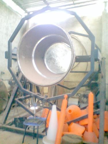máquinas de roto-moldeo.