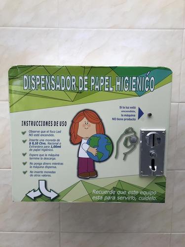 maquinas dispensadoras automáticas de papel higiénico