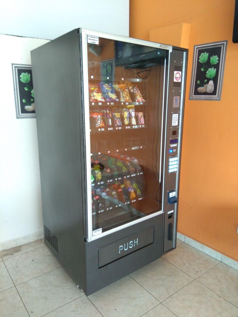 máquinas dispensadoras - vending - alimentos ¿ snack