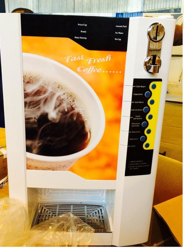 maquinas dispensadoras vending cafe en comodato y alquiler