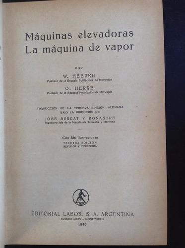 maquinas elevadoras - la maquina de vapor