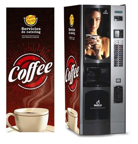 máquinas expendedoras café