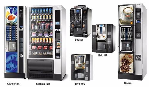 maquinas expendedoras de cafe y snacks