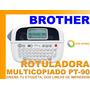 Rotuladora Etiquetas Brother Pt-90 Diseña Oficina Original