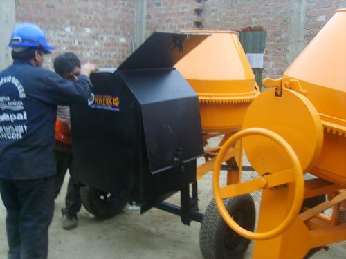 maquinas para la construccion mezcladoras, trompos, winches