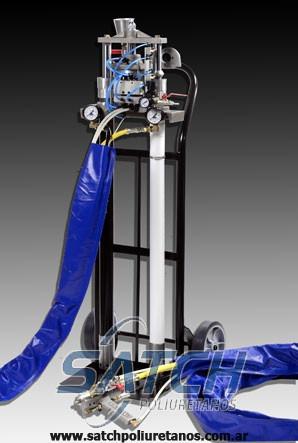 maquinas para poliuretano satch / nuevas / service oficial