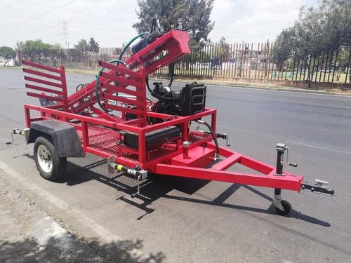 maquinas perforadoras de pozos profundos hasta 120 mts roja