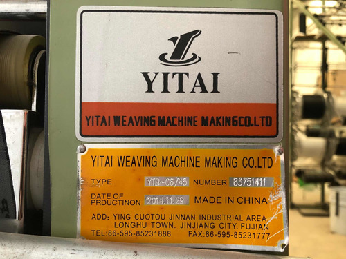 máquinas textiles marca yitai
