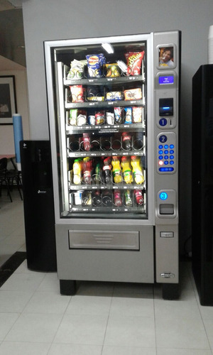 maquinas vending dispensadora snacks cafe ubicadas vendiendo