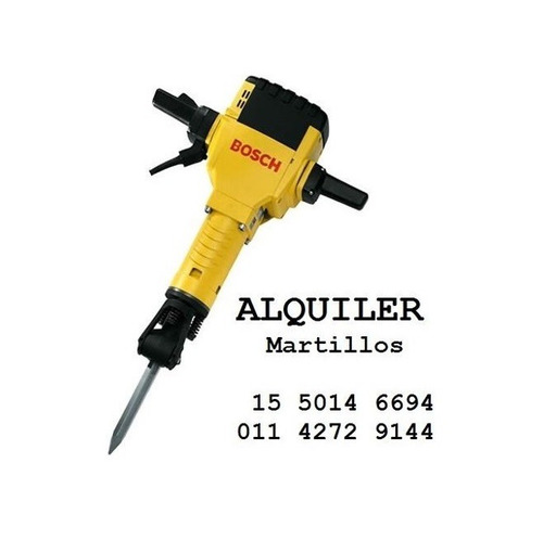 maquinas y herramientas alquiler martillo pison vibrador etc