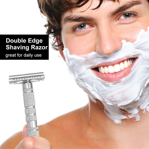 maquinilla de afeitar doble borde seguridad barba maquinilla