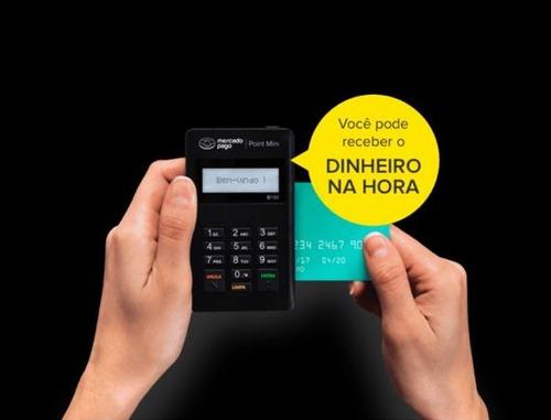 maquininha de cartão crédito débito point mini mercado pago