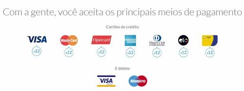 maquininha de cartão débito e crédito mercado pago point h