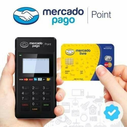 maquininha de cartão mercado pago point h moderninha