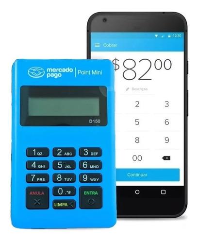 maquininha de cartão point credito debito - envio com seguro