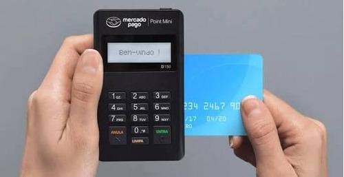 maquininha de cartão point mini - pronta entrega!