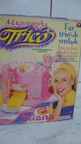 maquininha máquina de tricô da eliana glasslite vvt