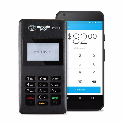maquininha point h do mercado pago - máquina de cartão