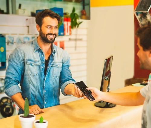 maquininha point i - máquina de cartão com chip e wifi