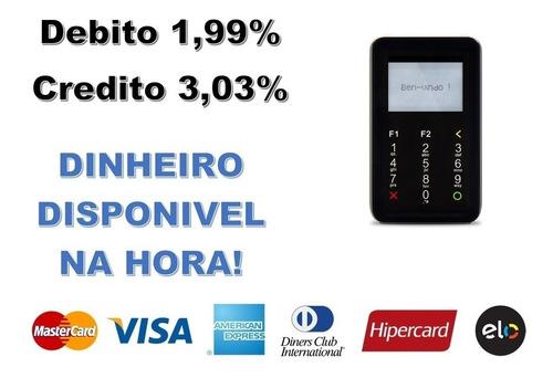 maquininha point i mercadopago máquina de cartão chip & wifi