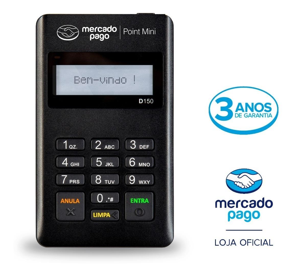 Maquininha Point Mini A Máquina De Cartão Do Mercado Pago