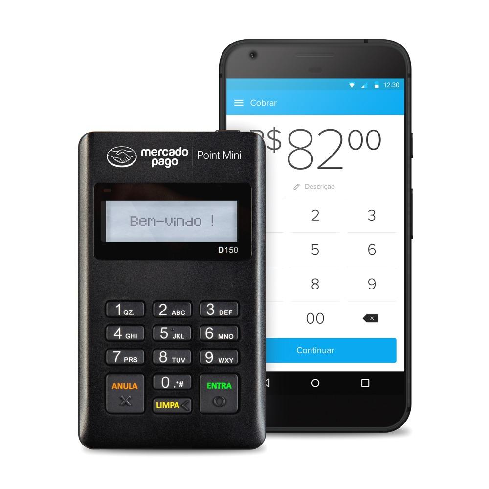 Maquininha Point Mini - A Máquina De Cartão Do Mercado Pago - R  58 ... 036fcfa5b2