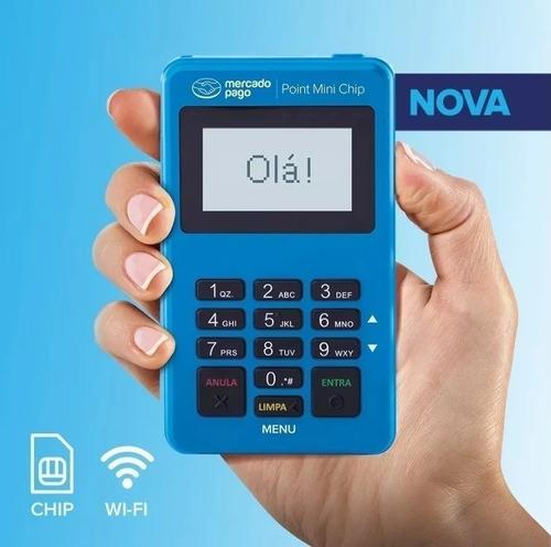 maquininha point mini chip promoção! não precisa de celular.