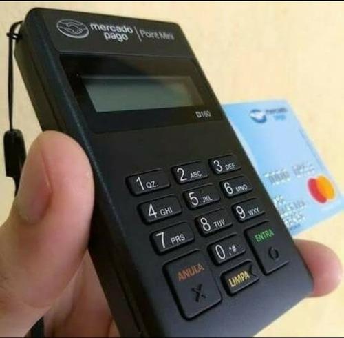 maquininha point mini mercado pago - frete grátis