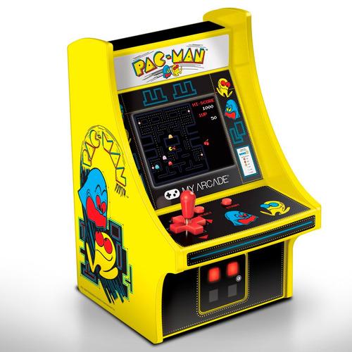 maquinita 6 pulg micro player my arcade retro pac - man
