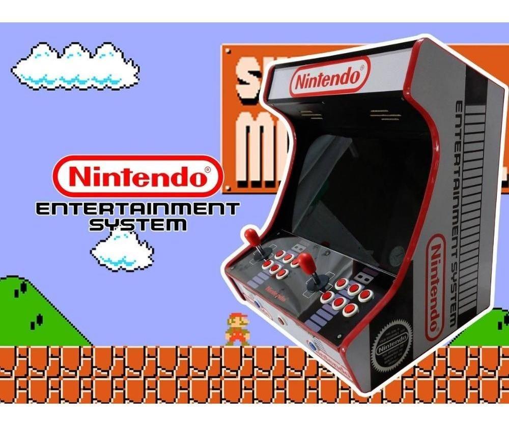 Maquinita clasica arcade de CPU estilo de bartop