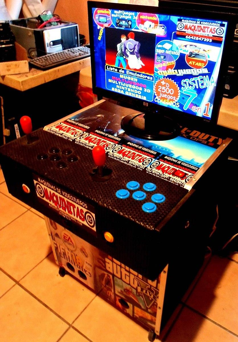 Maquinitas Multijuegos Con Juegos Clasicos Sistema 7 En 1