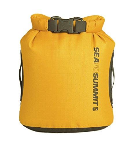 mar a cumbre big river dry bag, amarillo, 3 litros