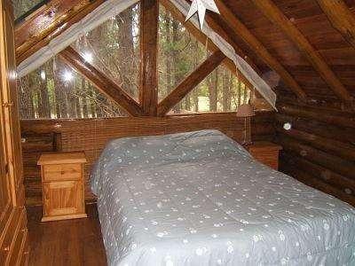 mar azul hermosa casa de 4 ambientes en medio del bosque