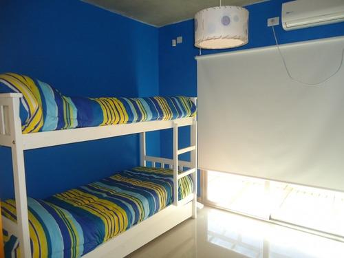 mar azul piscina climatizada-  marzo disponible