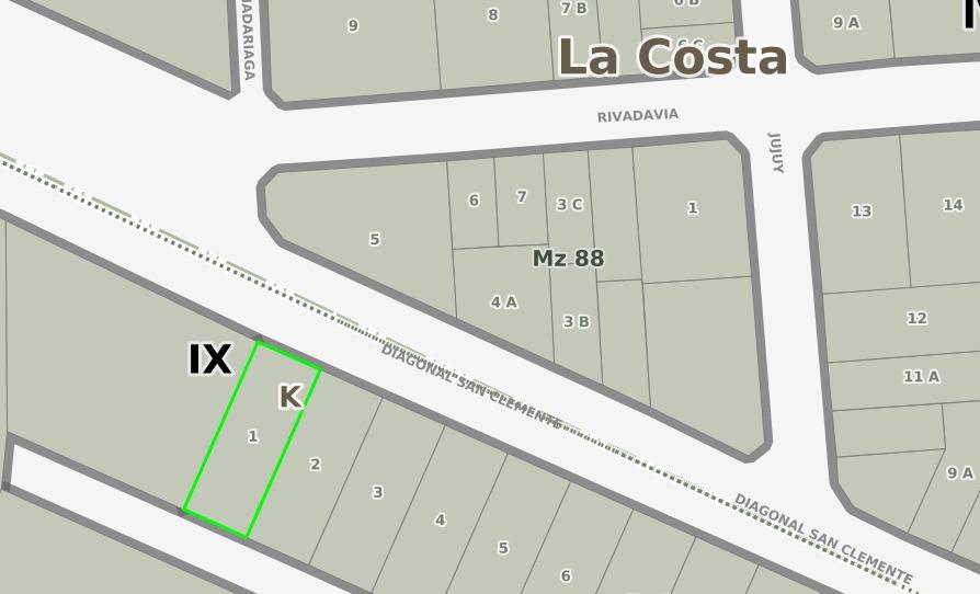 mar de ajo barrio san rafael venta excelente terreno 15x40