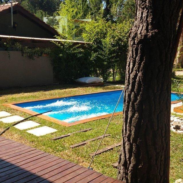 mar de las pampas - en venta  optima casa de 3 ambientes con pileta de natacion .