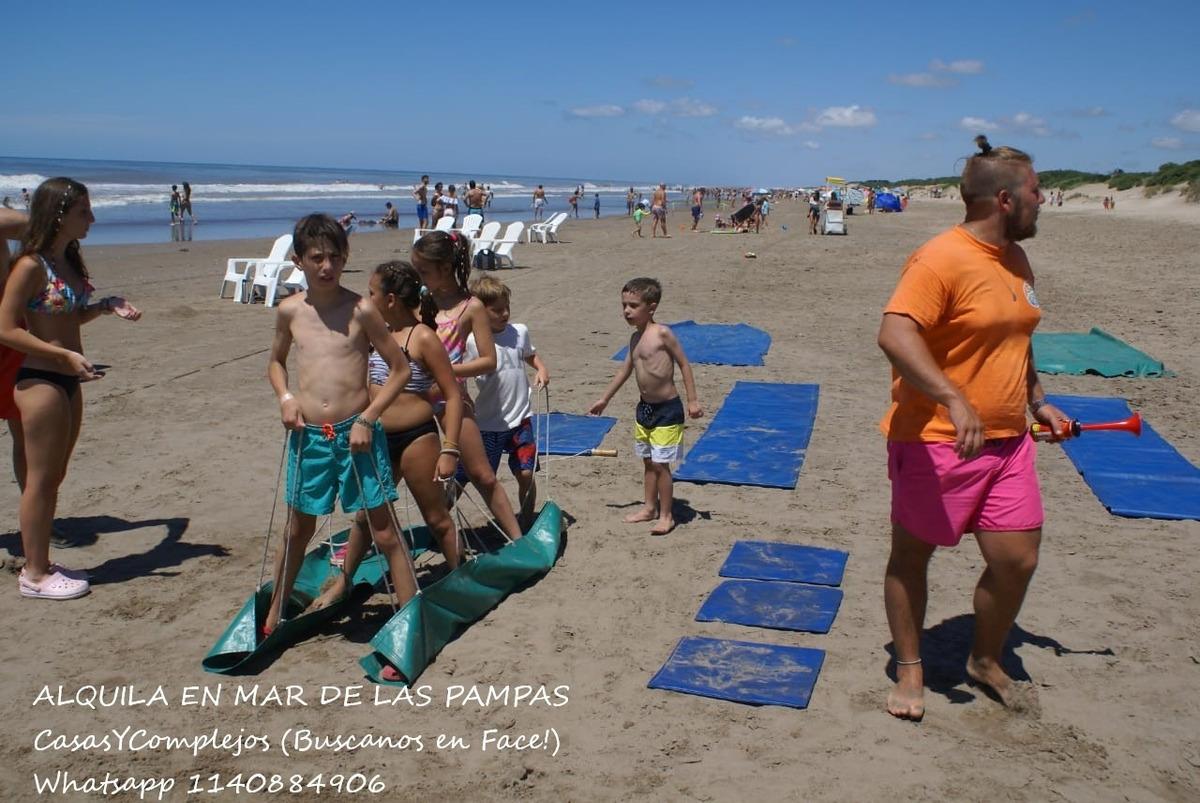 mar de las pampas salida a la playa piscina recreacion niños