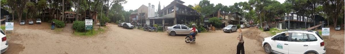 mar de las pampas, zona comercial en estrategica ubicacion 2 lotes con doble acceso. a calle miguel cane y gerchunoff.